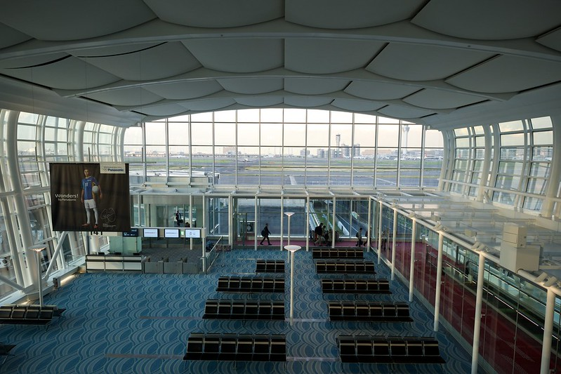 Haneda Airport International Terminal New Wing