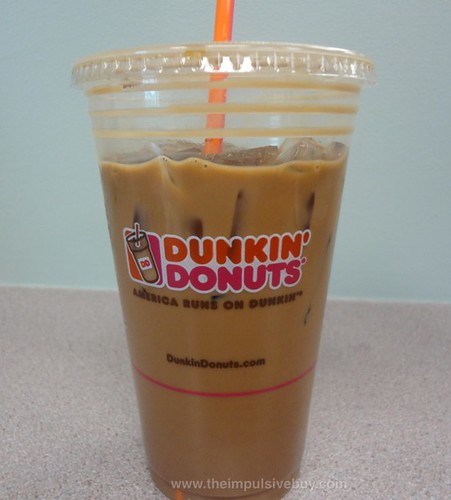 REVIEW: Dunkin' Donuts Jamoca Almond Fudge Iced Coffee
