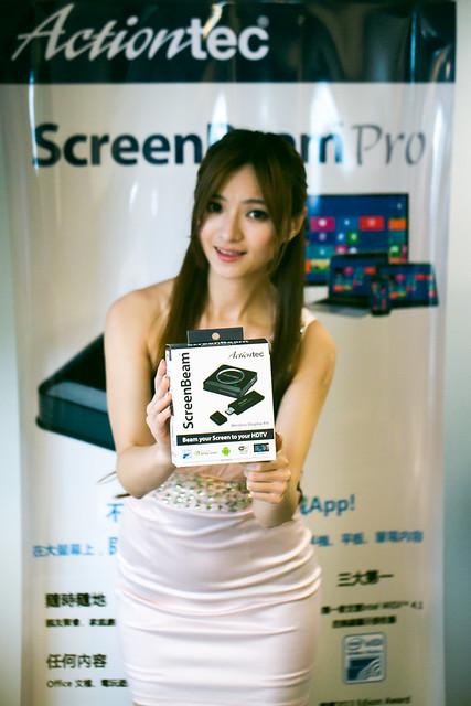 Actiontec 訊動科技 ScreenBeam 新品發表 & 體驗會 @3C 達人廖阿輝