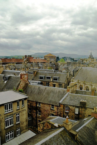 414 - Edinburgh - national museum of scotland - roof