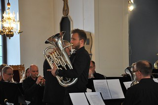 Glenn van Looy i Åsenhöga kyrka.