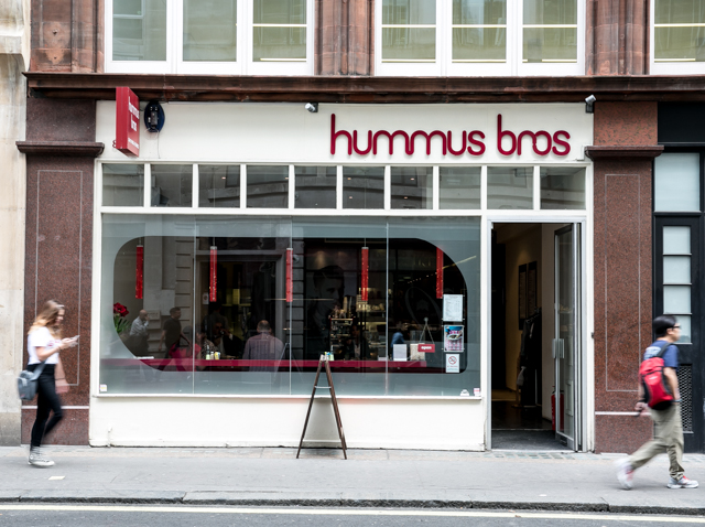 Hummus Bros, SoHo London
