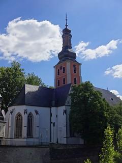 Bad Kreuznach, Rhineland-Palatinate (state of germany), Chiesa Evangelica di San Paolo, Iglesia Evangélica de San Pablo, Église Protestante du Saint Paul, Protestant Church of Saint Paul (Kurhausstraße)