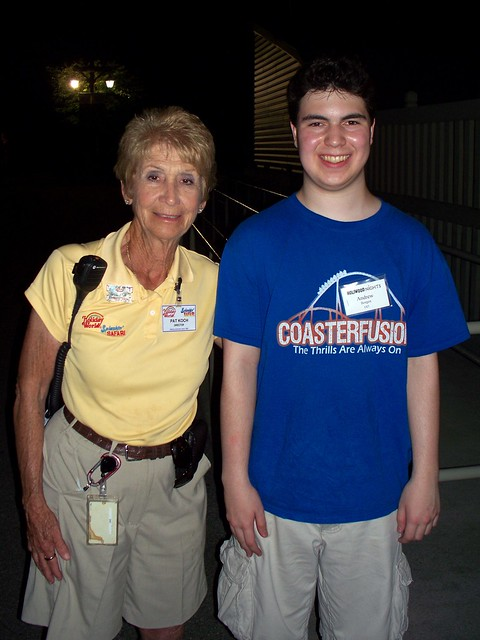 Holiday World - Me with Pat Koch