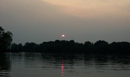 sunset atthelake