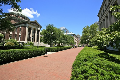 Walking Through Columbia University