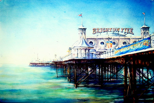 Brighton Pier,a summers morning !