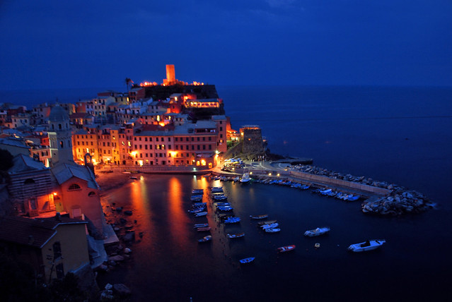 Vernazza in Cinque Terre National Park, Italy (Explore!)