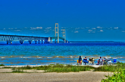 bridges mackinacbridge straitsofmackinac suspensionbridges mackinawcity