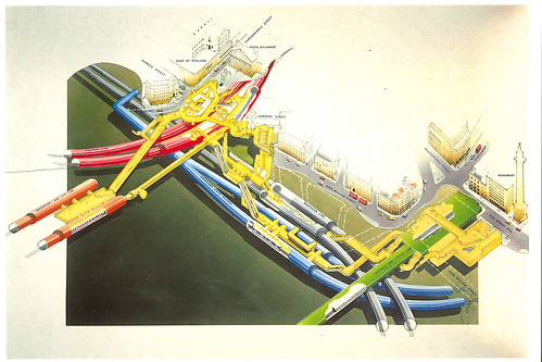 Bank Monument Station Modernisation Cutaway