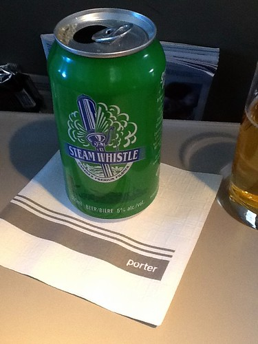 steam whistle on porter