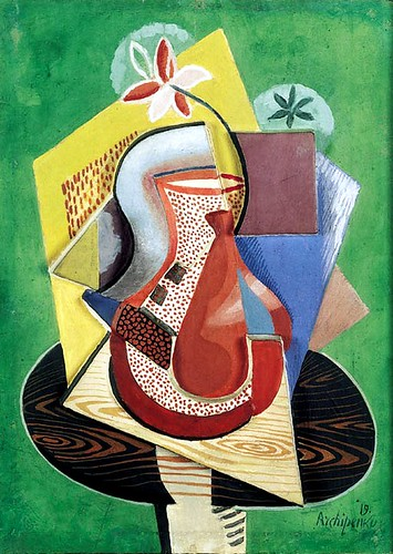 Archipenko, Alexander (1881-1964) - 1919 Vase of Flowers (Christie's New York, 2001) by RasMarley