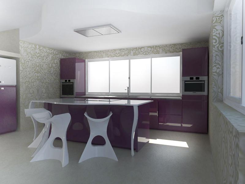 Forum arredamento.it • cucina scic   render rosa   render ...