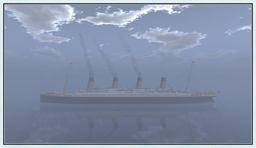The Titanic in Second Life