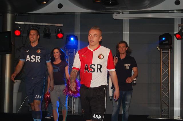 Feyenoord thuisshirt 2012/2013