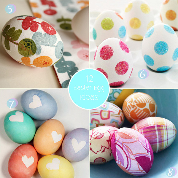 Glitter Easter Egg IDeas