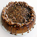 Cheesecake with the Bourbon Pecan Brown Sugar Maple and Butter topping.