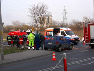 Stłuczka Wrocław Żernicka: Wypadek we Wrocławiu