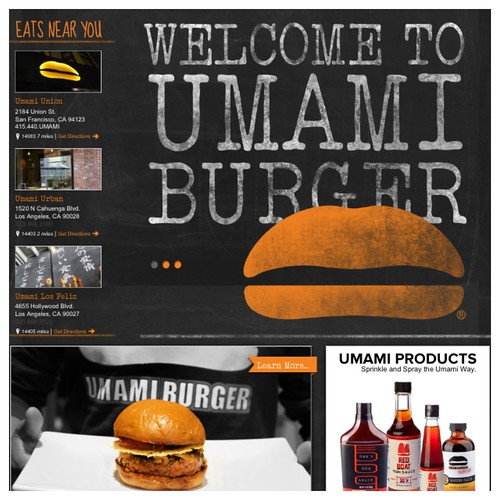 Umami burger website