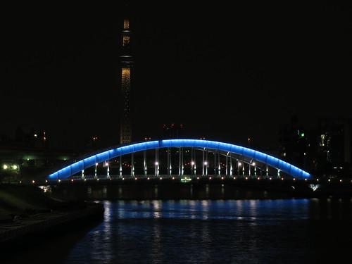 Tokyo Skytree test illumination