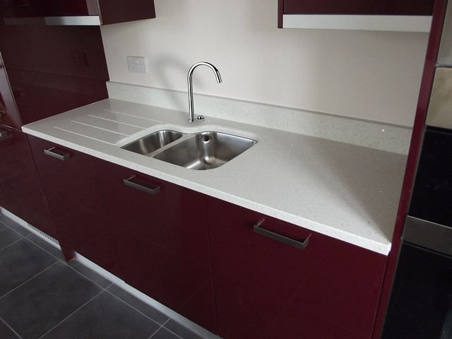 Blanco Stellar Silestone Undermounted Sink And Fluted