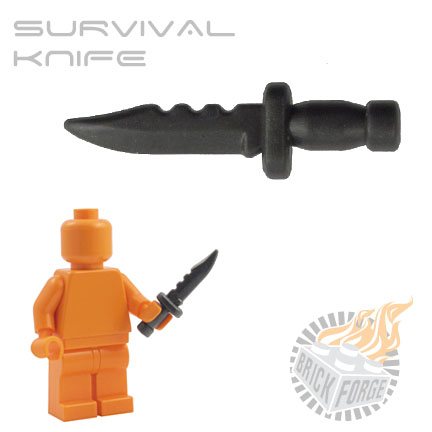 Survival Knife - Carbon
