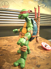 "NECA TEENAGE MUTANT NINJA TURTLES :: ""LEONARDO""  Tube Pack xi (( 2008 ))"