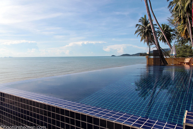 Infinity pool... not at our place.