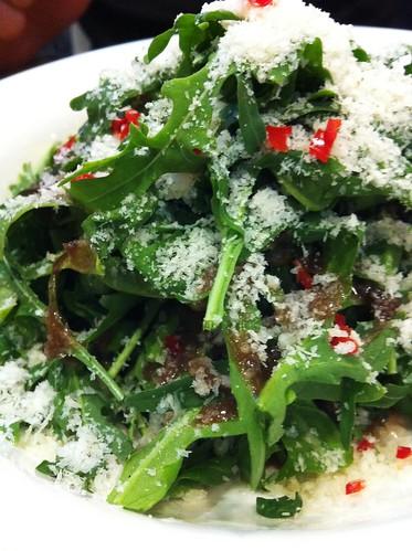 wild rocket salad