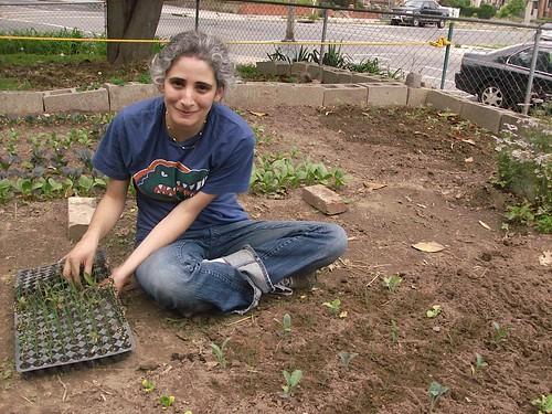 Jennifer at the Dorothy Day Catholic Worker House