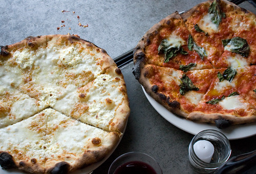 White Pie & Margherita