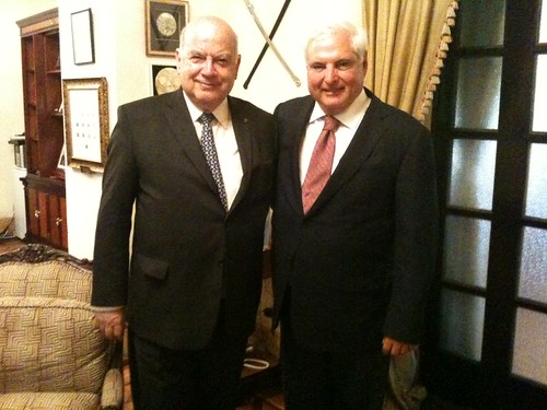OAS Secretary General Meets with the President of Panama