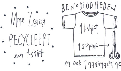T-shirt zakje