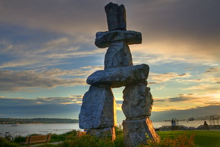 Ghosts of the inukshuk
