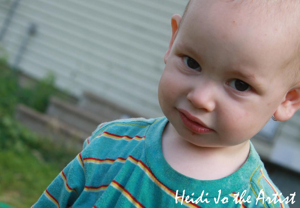 Baby Boy Dashiell Portrait