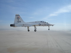 northrop f-5(0.0), flight(0.0), aviation(1.0), airplane(1.0), vehicle(1.0), fighter aircraft(1.0), northrop t-38 talon(1.0), jet aircraft(1.0), air force(1.0),