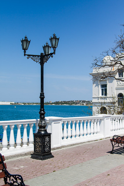 Sevastopol Bay Embankment