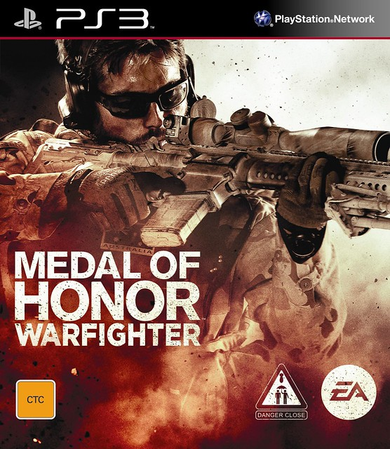 Medal of Honor Warfighter Exclusive Australian & New Zealand Cover