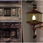 OutDoor Scripted W all Lamp  3D Model