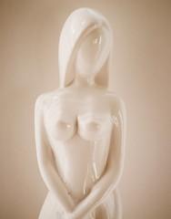 White figurine