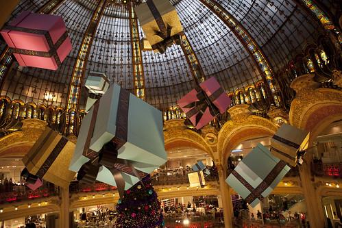 Galeries Lafayette - christmas decorations