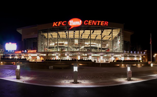 new KFC Yum! Center |Kfc Yum Arena