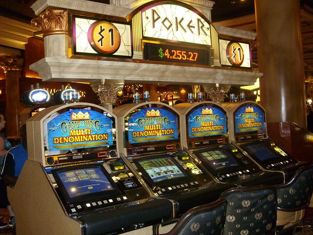 caesars palace slot machine bank