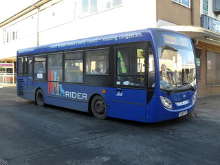 KX59 CXR at Lewes Bus Station (Renown Coaches Route 123)