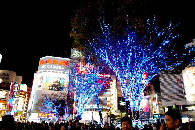 Shinjuku in Christmas