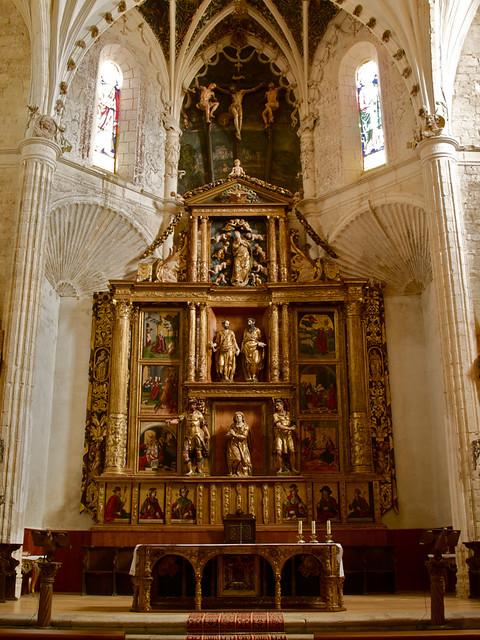 Retablo de Nuestra Señora de la Asunción, iglesia de Santa Eulalia, Paredes de Nava