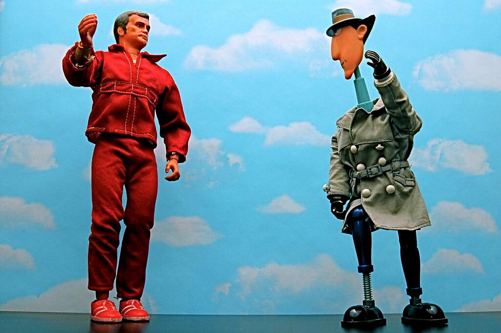 Steve Austin vs. Inspector Gadget (338/365)