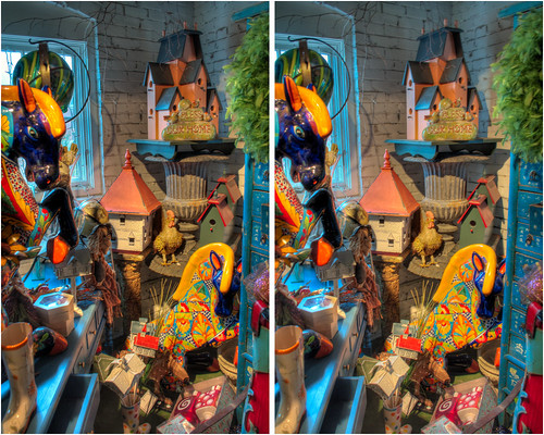 urban sculpture ny stereoscopic stereophotography 3d crosseye interior upstate saratogasprings upstateny handheld chacha hdr 3dimensional crossview crosseyedstereo 3dphotography saratogaspringsny 3dstereo