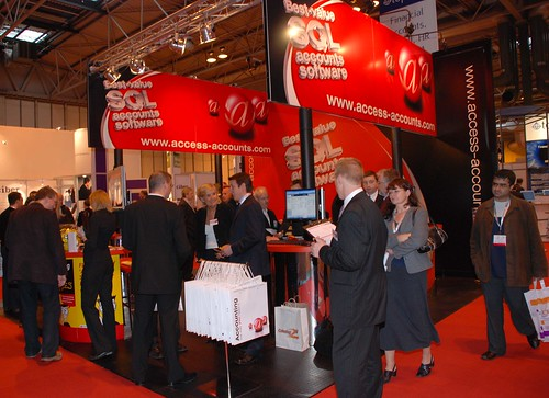 The Access Stand at Softworld 2006