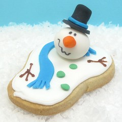 melted snowman cookies 6